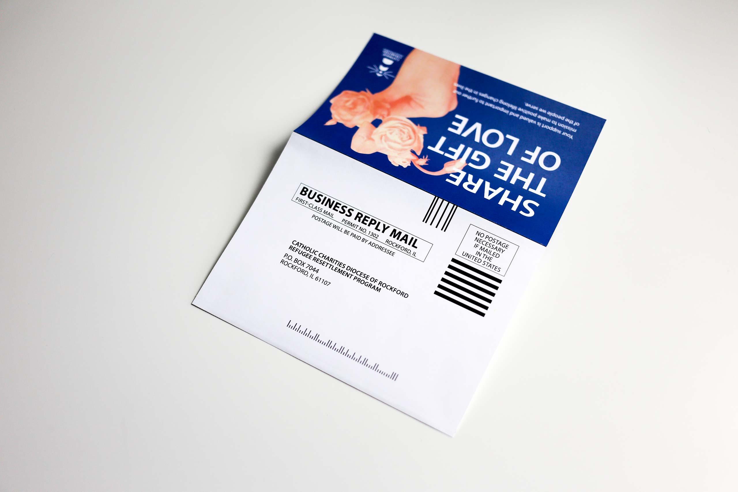 non-profit organization donations envelop