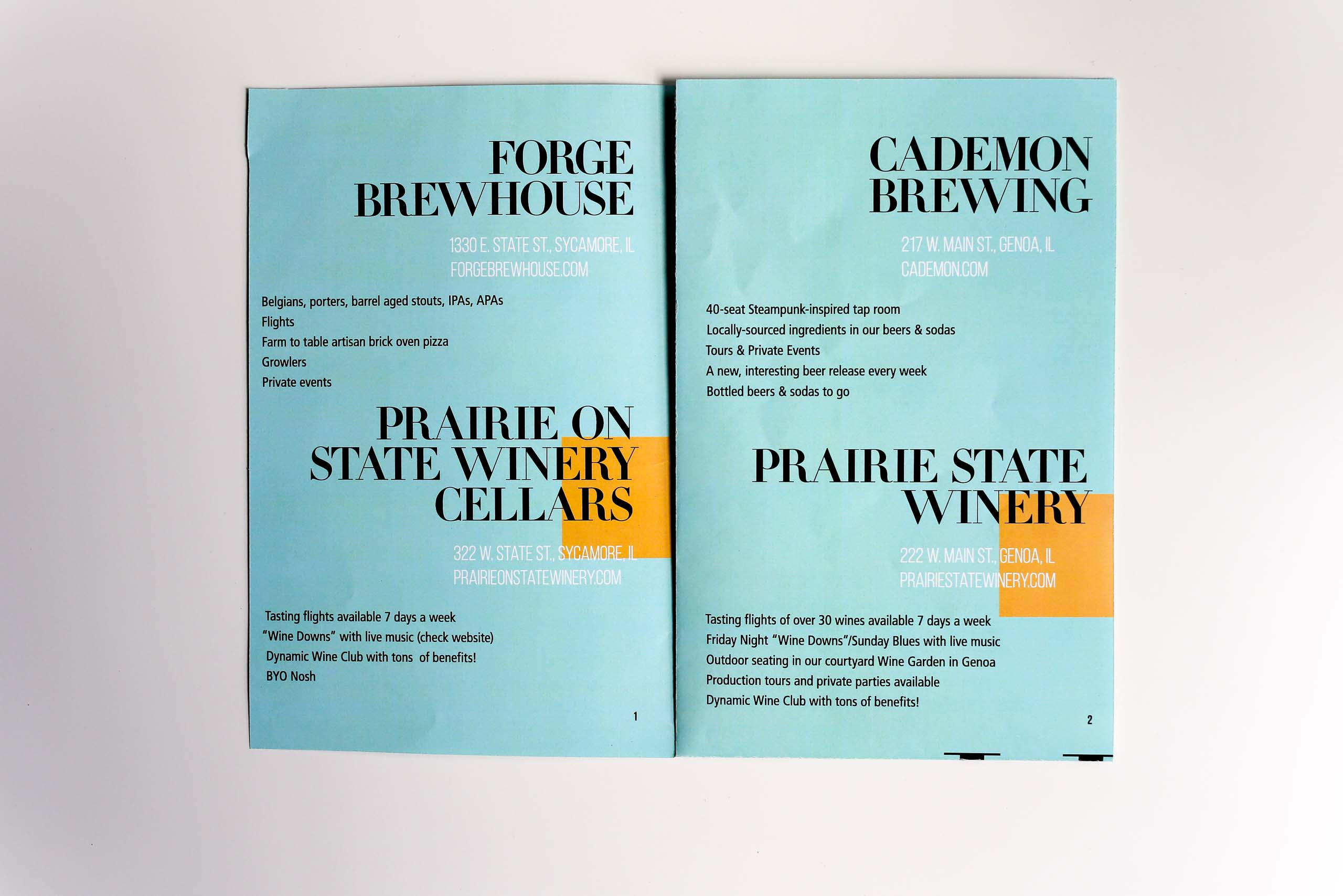 Brochure Redesigned Inside
