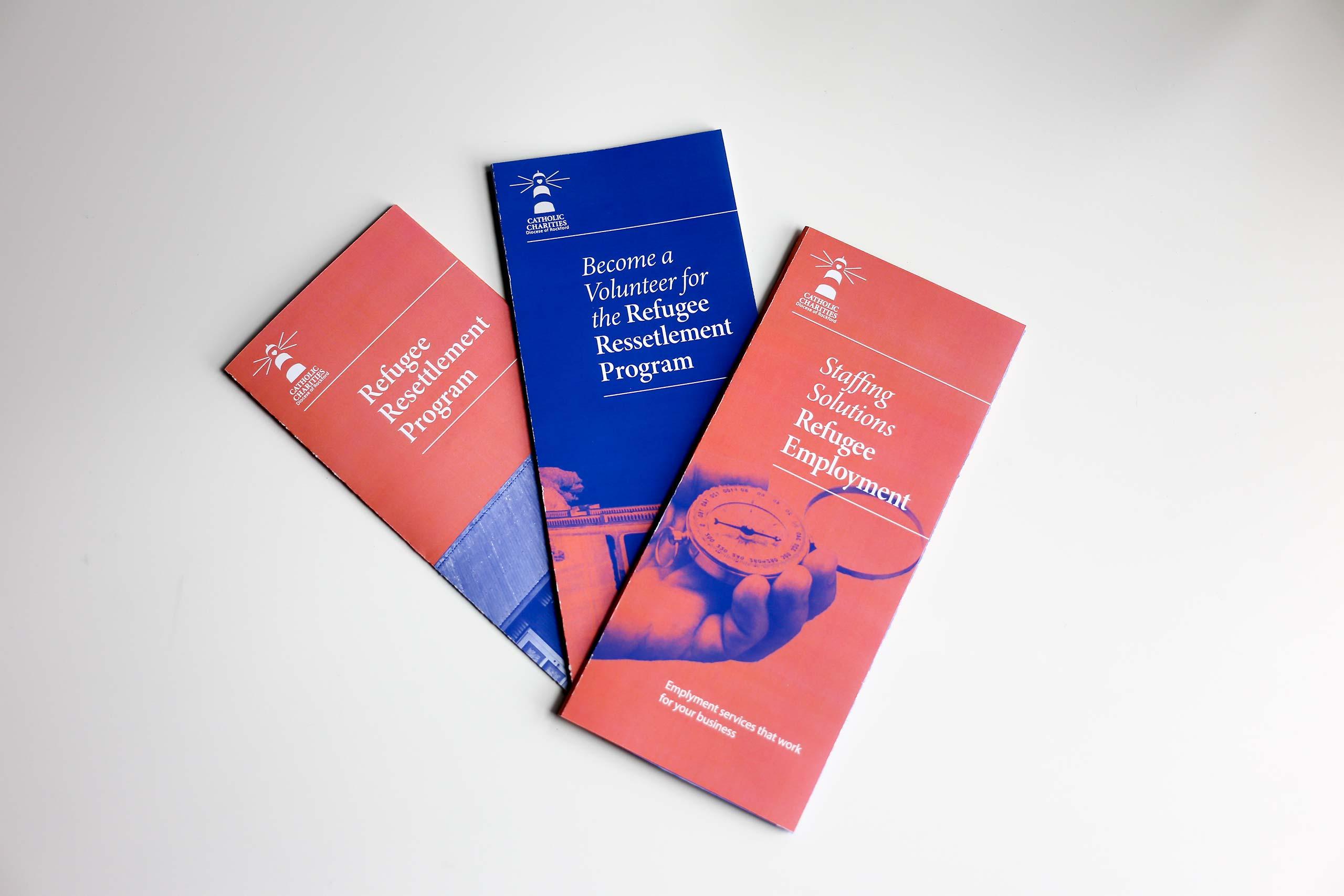 non-profit organization brochures series