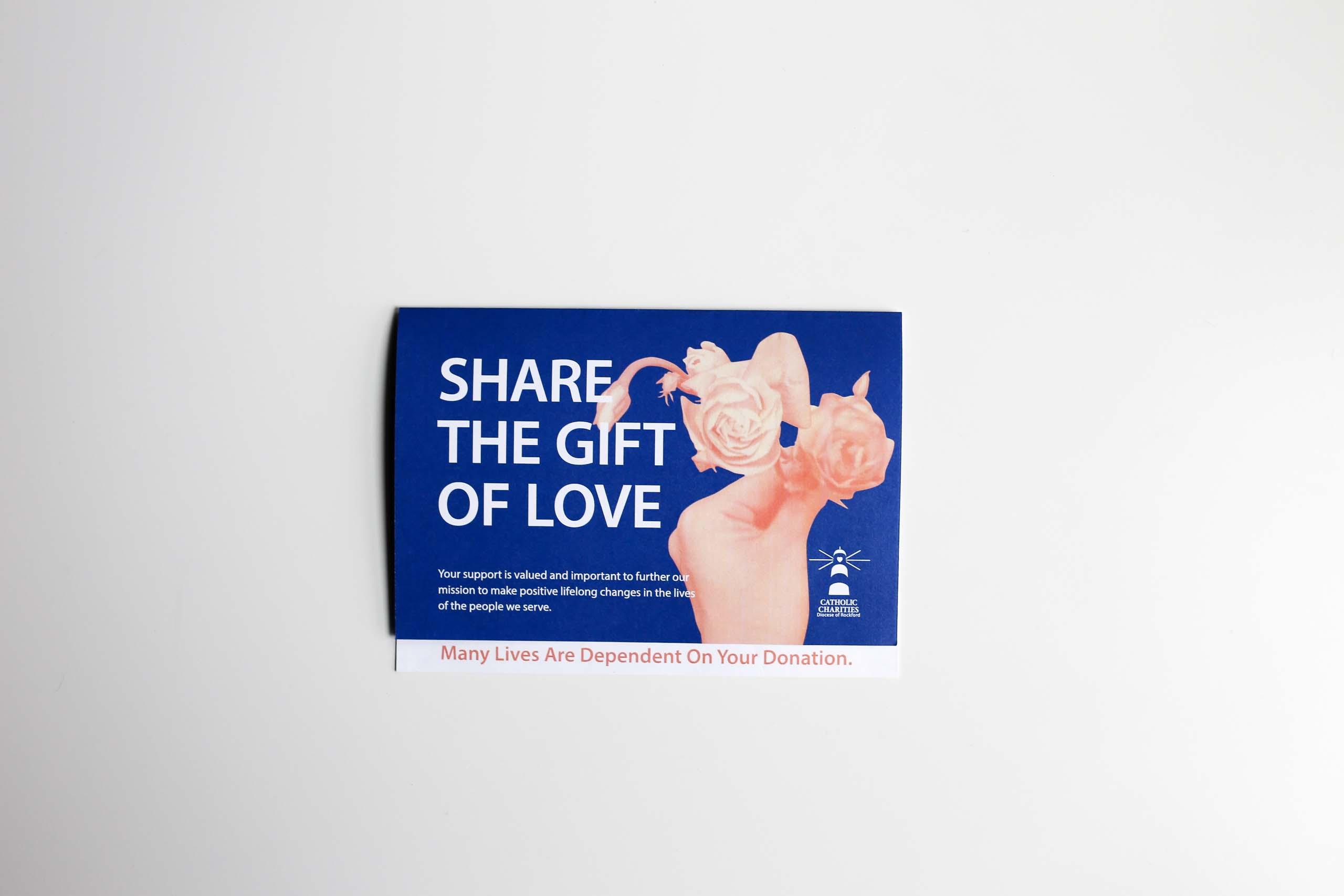 non-profit organization donations envelope